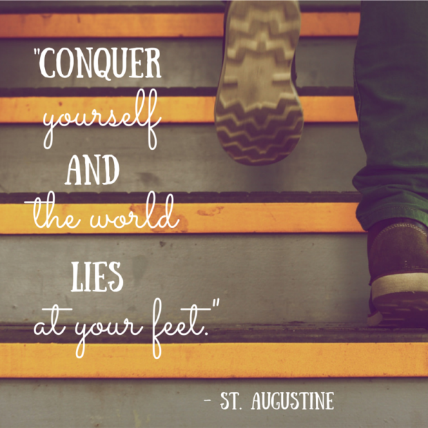 Conquer Yourself Augustine